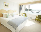 Hotel accommodation in Cornwall rooms at the Greenbank Hotel Falmouth