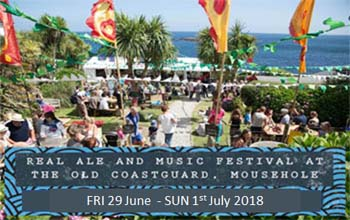 Things to do in Cornwall Music Festival The Old Coastguard