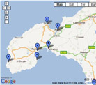 Map of Best Places Cornwall