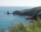 Housel Cove Lizard Peninsula Cornwall
