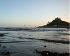 St Micheals Mount Marazion Beach Cornwall