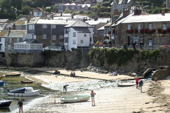Beach Mousehole Harbour Mousehole Cornwall