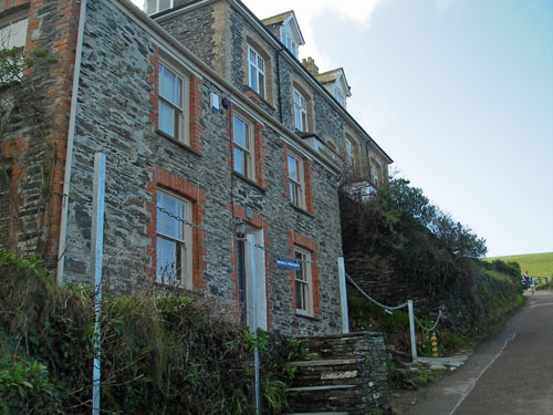 Doc Martin's House Port Wenn Cornwall