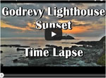 Watch video of Godrevy Sunset Cornwall