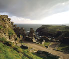 Tintagel Castle attraction in North Cornwall