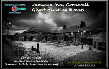 Ghost Hunting Cornwall at the Jamaica Inn