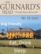 Accommodation St Ives Cornwall The Gurnards Head